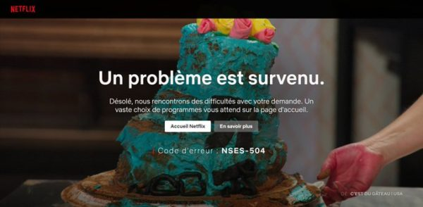 code nses 504 600x294 - Que faire si le code d'erreur NSES-504 ou  NSES-500 apparait sur Netflix ?