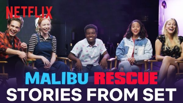 malibu rescue stories from set netflix futures youtube thumbnail 600x338 - Malibu Rescue
