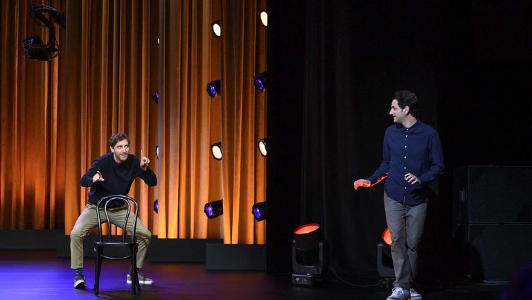 middleditch  schwartz impro netflix - Middleditch & Schwartz ou l'art de rendre l'impro aussi accessible que le stand-up