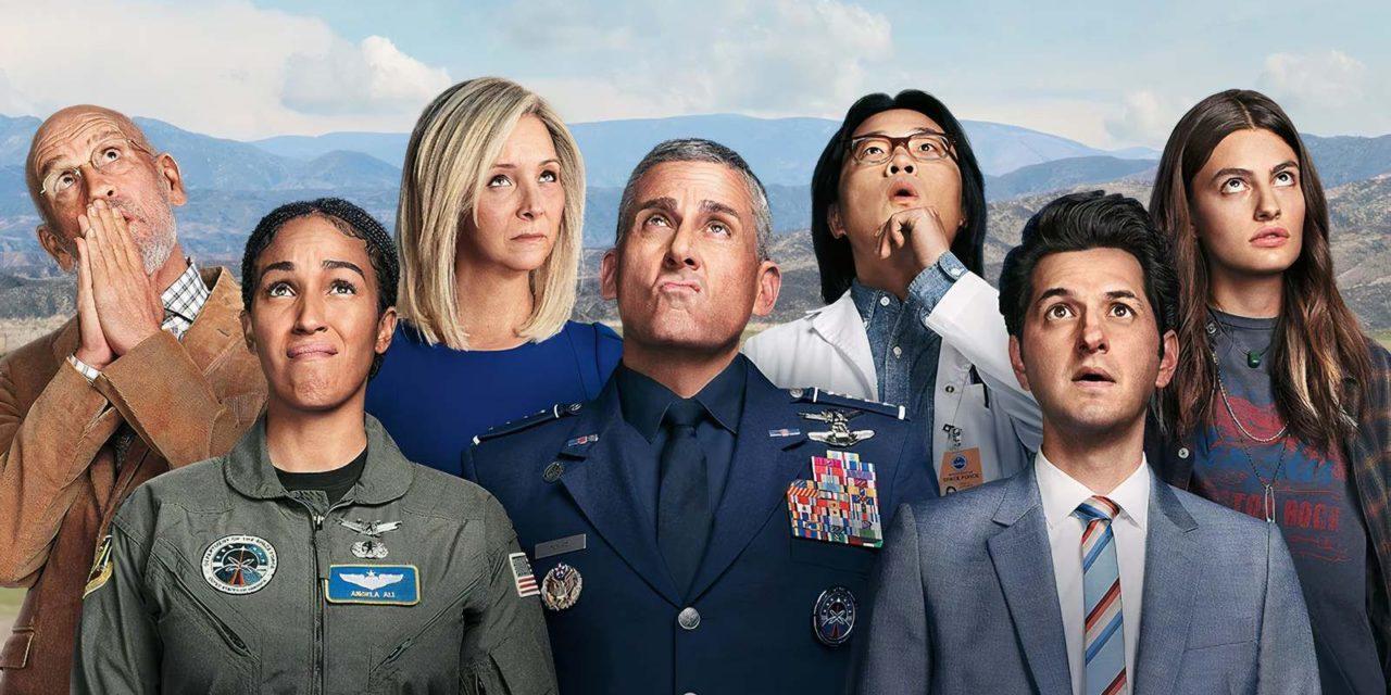 Space Force : que pensent les internautes de la nouvelle comédie spatiale Netflix ? (Avis)