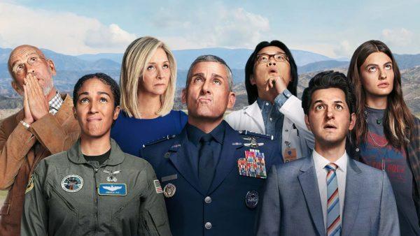 space force 600x338 - Space Force : que pensent les internautes de la nouvelle comédie spatiale Netflix ? (Avis)