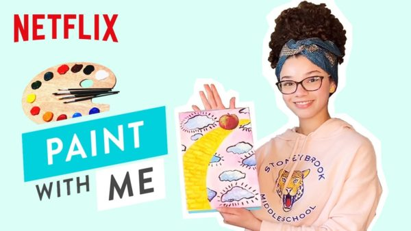 paint with me ft malia baker the baby sitters club netflix futures youtube thumbnail 600x338 - Her