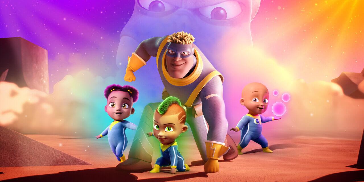 Qui @ peur des monstres ? (Fearless) : la comédie animée de super-héros est disponible sur Netflix
