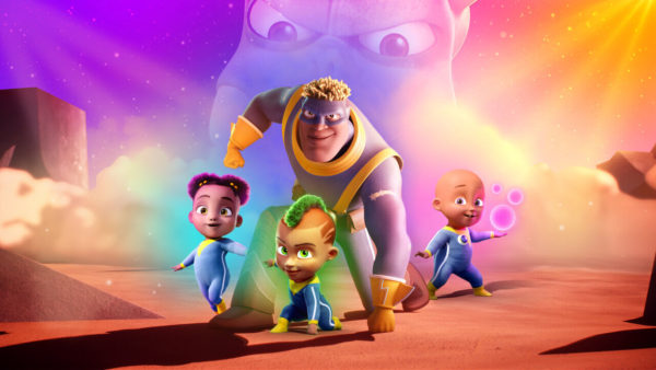 fearless netflix 600x338 - Qui @ peur des monstres ? (Fearless) : la comédie animée de super-héros est disponible sur Netflix