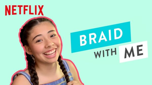 learn to braid with xochitl gomez the baby sitters club netflix futures youtube thumbnail 600x338 - Easy