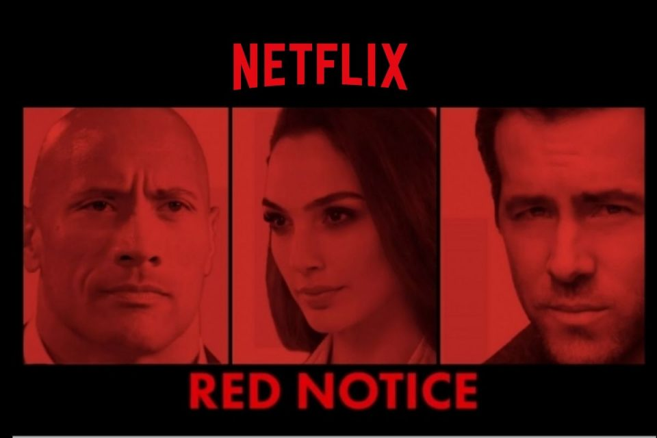 Red Notice : le thriller d'action avec Dwayne Johnson, Gal Gadot et Ryan Reynolds devrait sortir en 2021