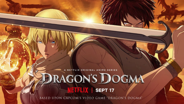 dragons dogma 600x338 - Netflix s'attaque à un monument du jeu vidéo avec sa série animée Dragon's Dogma