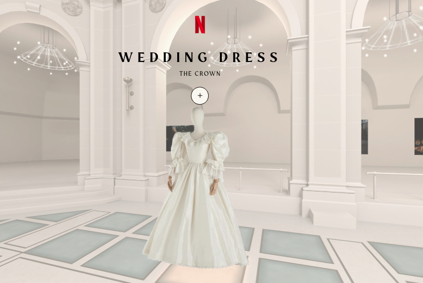 capture decran 2020 11 02 a 214939 - The Crown et Le Jeu de la dame : découvrez gratuitement l'exposition virtuelle des costumes des deux séries d'époque !