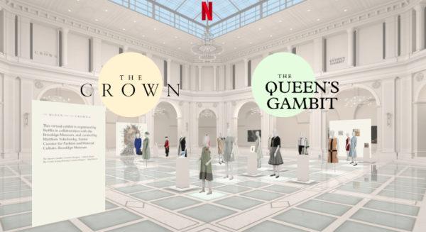 capture decran 2020 11 02 a 215822 600x327 - The Crown et Le Jeu de la dame : découvrez gratuitement l'exposition virtuelle des costumes des deux séries d'époque !