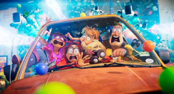 Les Mitchell contre les machines netflix avril 600x324 - Les Mitchell contre les machines : un road trip déjanté et plein d'actions à savourer en famille sur Netflix
