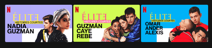 Capture décran 2021 05 17 à 13.25.02 - Elite : Netflix offrira en juin quatre histoires courtes autour des personnages de la série !