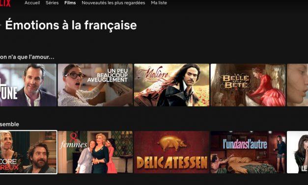 """Netflix célèbre le cinéma français avec sa collection de films et séries """"Emotions à la française"""""""