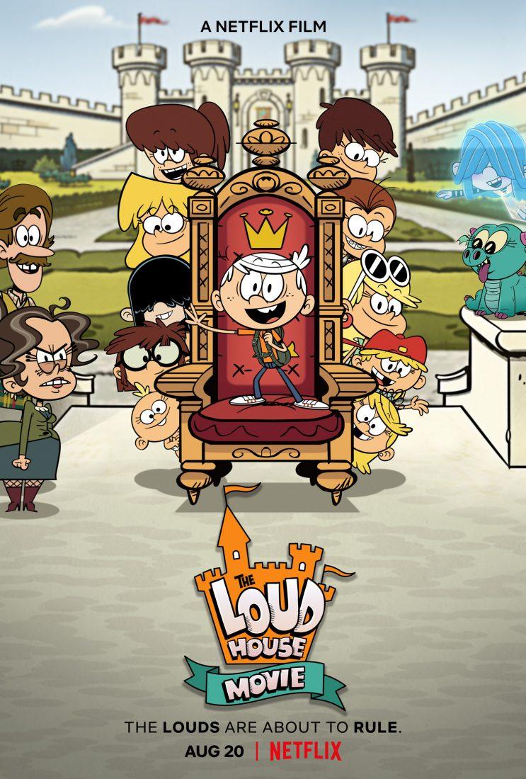 les loud netflix film affiche 743x1100 - Bienvenue chez les LOUD, le film : vie de château et vacances de folie pour la famille Loud (disponible sur Netflix)