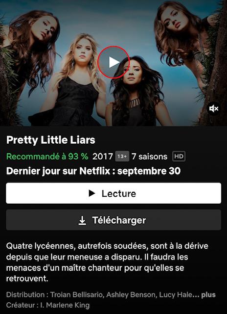 IMG 7646 - Pretty Little Liars : faites vite, la série quittera le catalogue Netflix le 30 septembre
