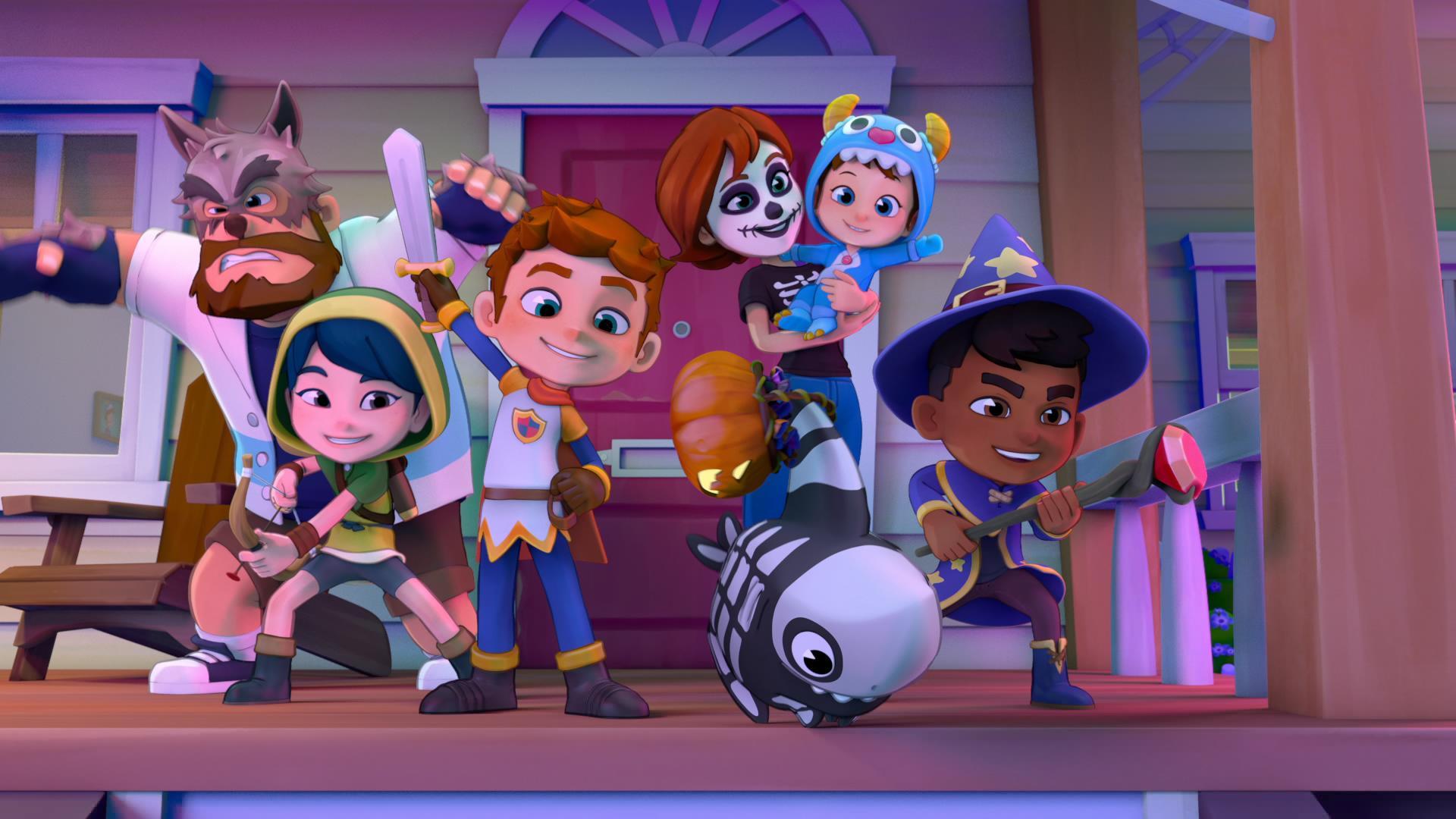 toukin requin halloween - Netflix ajoute 4 nouveaux programmes spécial Kids pour fêter Halloween en toute tranquillité (Sélection enfants)